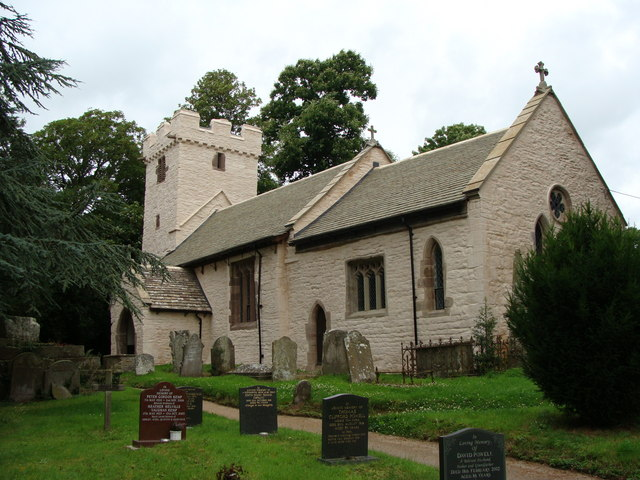 Llanvapley Church